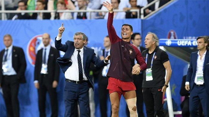 10 Juli 2016 Portugal Juara Euro Piala Eropa untuk Pertama Kalinya, Ronaldo jadi Pelatih Dadakan!