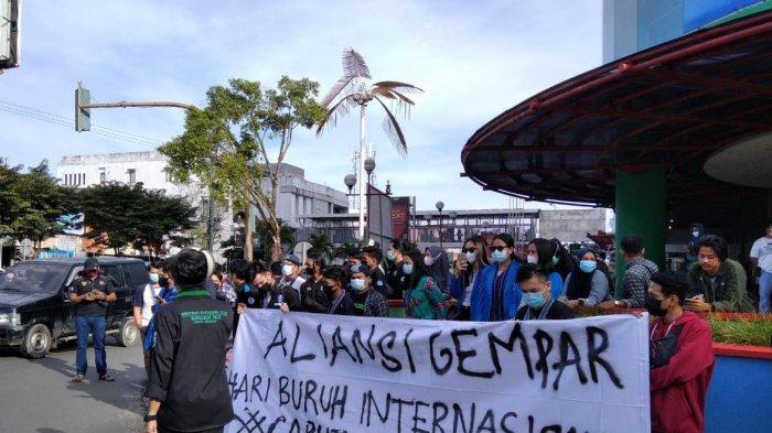 Momen May Day di Tarakan,Ini Delapan Tuntutan Mereka