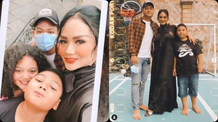 Momen saat Azriel Main ke Rumah Krisdayanti, Akrab dengan Dua Adik Tirinya, Reaksi Raul Lemos