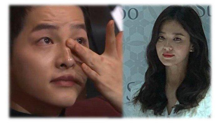MOMEN SONG JOONG KI Sebut Song Hye Kyo 'Pasangan Hidup yang Sangat Aku Cintai' di Acara Penghargaan