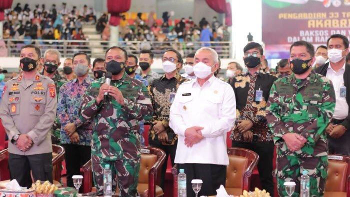 Ditanya Kapolri Soal Penanganan Covid dan Capaian Vaksinasi, Begini Jawaban Mayjen TNI Heri Wiranto