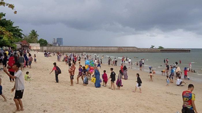 Libur Tahun Baru 2020, Tempat Wisata Pantai Jadi Favorit, Wisatawan Serbu Pantai Monpera Balikpapan - monpera-0101-7.jpg