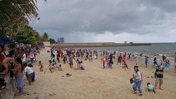 Libur Tahun Baru 2020, Tempat Wisata Pantai Jadi Favorit, Wisatawan Serbu Pantai Monpera Balikpapan - monpera-4-0101.jpg