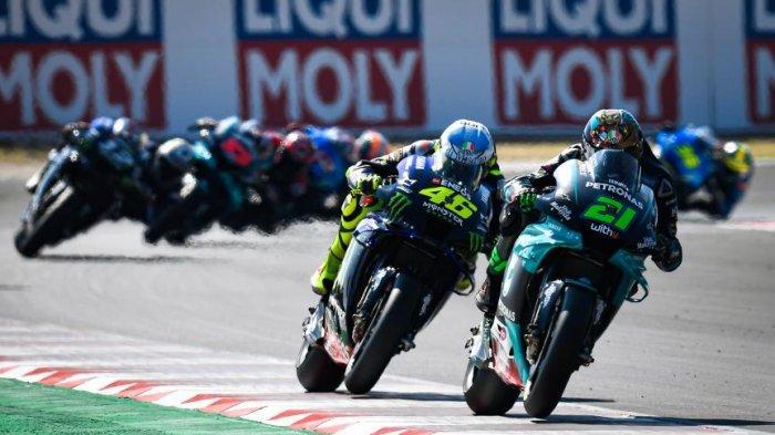 Hasil Kualifikasi MotoGP Valencia 2020, Morbidelli Pole Position, Joan Mir Tercecer, Rossi Ke-16