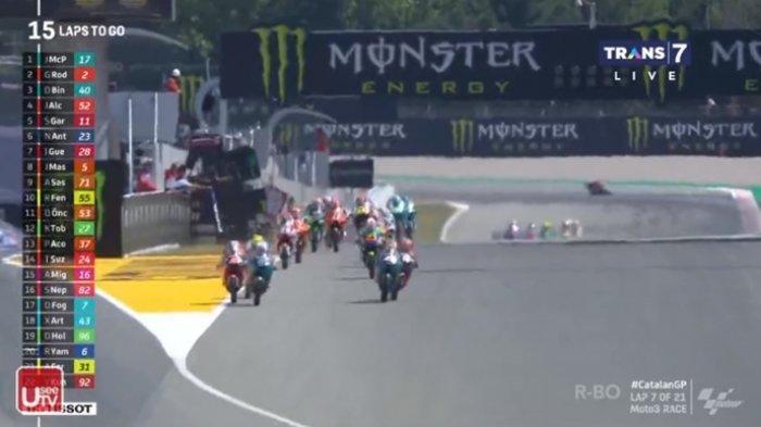 BERLANGSUNG Live Streaming Moto3 GP Catalunya 2021 Trans 7, Tonton Via TV Online UseeTV