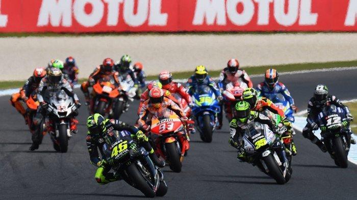 Jadwal MotoGP Qatar 2020 Resmi Batal Akibat Virus Corona, Valentino Rossi & Rider Italia Waspada