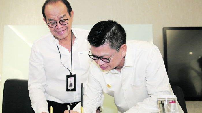 Teken MoU dengan Hutama Karya, Gubernur Yakin KBM Tanjung Selor Segera Terwujud