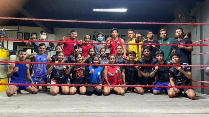 Jelang PON Papua 2021 Muaythai Kaltim Try Out di Bali, Manajer Akui Ada Peningkatan Fisik Atlet
