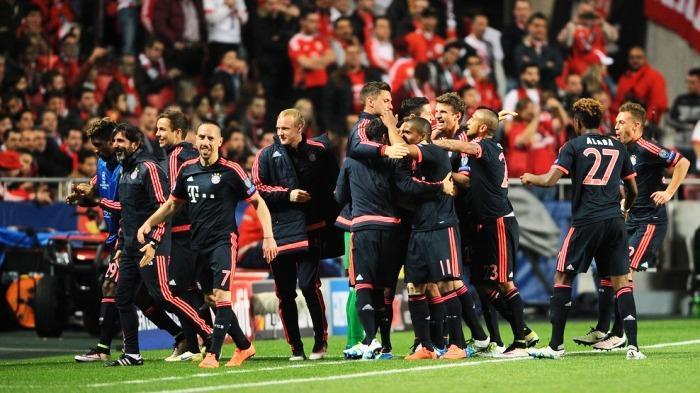 Raih Hasil Imbang di Kandang Benfica, Bayern Muenchen Melaju ke Semifinal