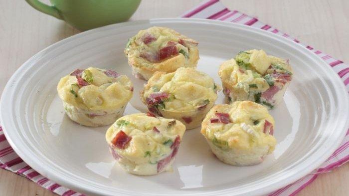Resep Muffin Telur Enak, Pengganti Menu Makan Malam yang Langsung Ludes saat Disajikan