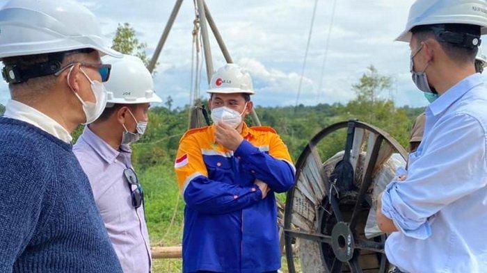 GM PLN UIP Kalbagtim Tinjau Proyek SUTT di Tanjung Selor, Monitoring Pembangunan dan Inspeksi K3