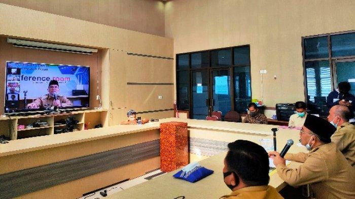 Gelar Silaturahmi Seluruh Aparat Kampung, Bupati Berau Berikan Apresiasi dan Dukungan