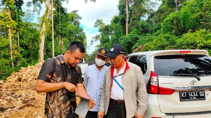 Tunjang Pengembangan Pariwisata Pulau Maratua, Bupati Tinjau Pengerjaan Jalur Dua Bohe Silian