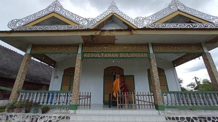 Bangunan Museum Kesultanan Bulungan di Tanjung Palas, dahulu kompleks Istana Kesultanan memiliki tiga buah Istana, yang kini tidak tersisa, karena hangus dibakar pada Tragedi Bultiken 1964. (TRIBUNKALTARA.COM / MAULANA ILHAMI FAWDI)