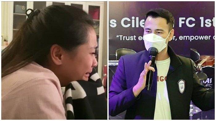 Nagita Slavina Menangis Ditinggal Nisya, Raffi Ahmad Janjikan Hadiah Mobil pada Pemain RANS Cilegon
