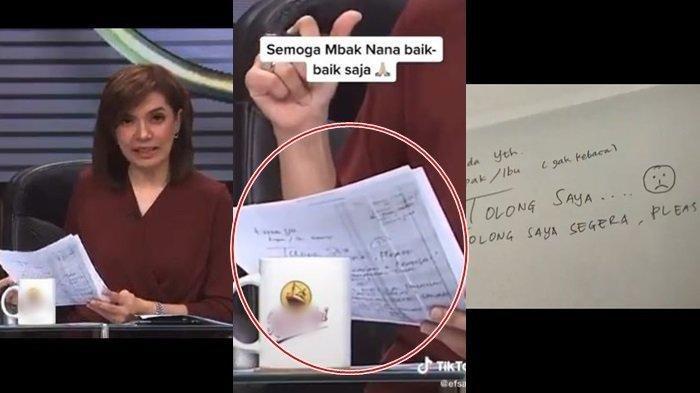 VIRAL Najwa Shihab Diduga 'Minta Tolong' Saat Live, Benarkah Semuanya Baik Saja? Begini Pengakuannya