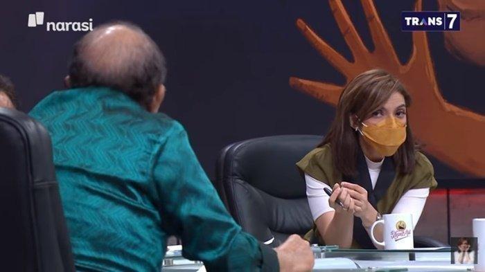 SERUNYA Mata Najwa Tadi Malam, Najwa Skakmat Jhoni Allen Saat Nasihati Jansen Sitindaon soal Sumpah