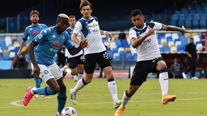 Jadwal Semifinal Coppa Italia, Atalanta vs Napoli, Menguji Ketajaman Trio Mungil Partenopei