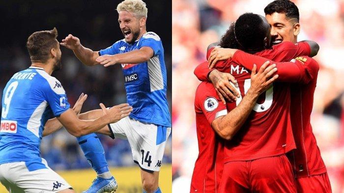 Napoli vs Liverpool, Misi Balas Dendam Tuan Rumah, Tumbangkan Juara Bertahan Liga Champions