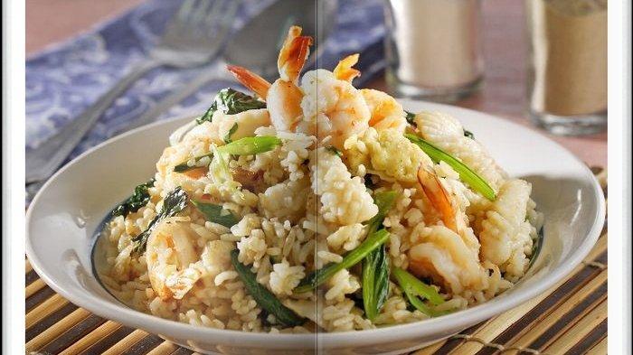 Cara Bikin Nasi Goreng Seafood, Menu Sarapan Sederhana Tapi Disukai Keluarga Tercinta