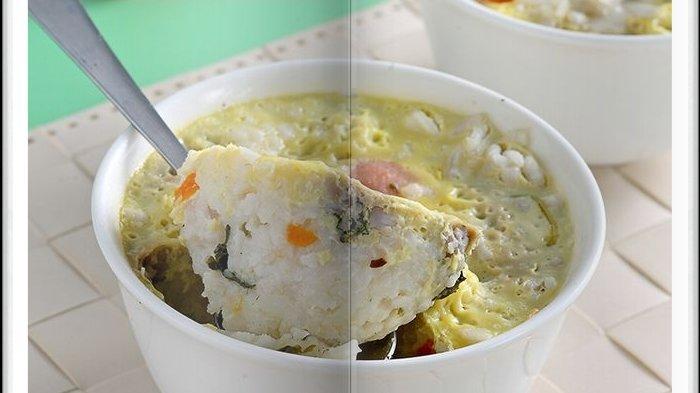 Cara Bikin Nasi Mangkok Sosis Telur Super Enak, Menu Sarapan Spesial Hari ini