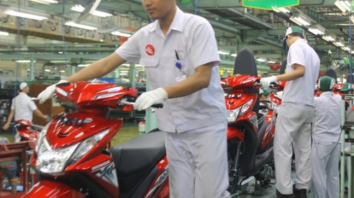 Serunya Blusukan ke Pabrik yang Menghasilkan 8.600 Unit Sepeda Motor per Hari
