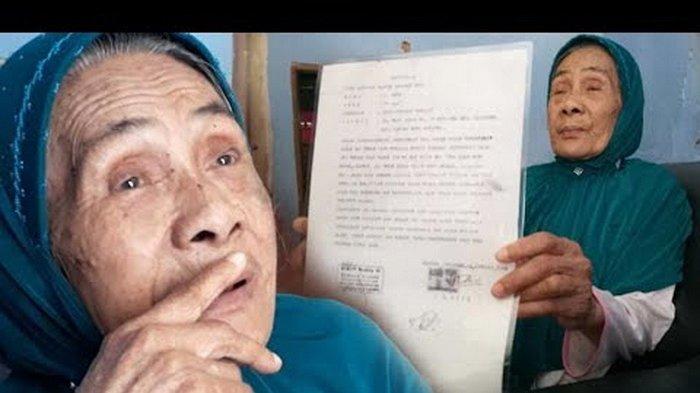 Digugat Anak Kandungnya Sendiri, Nenek Icih Mengadu ke Bupati