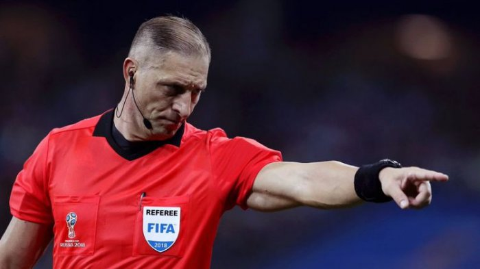 Nestor Pitana Pimpin Pertandingan Final Perancis Vs Kroasia di Stadion Luzhniki