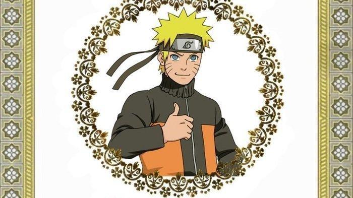 Netizen yang mengunggah cover bergambar Naruto lantaran turut berduka dengan kepergian Naruto