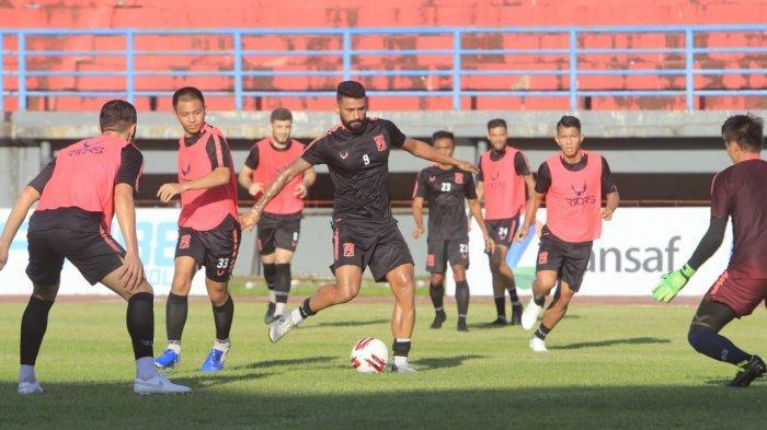 Jelang Liga 1, Porsi Latihan Fokus pada Taktikal, Borneo FC Samarinda Siap Ladeni Persija Jakarta