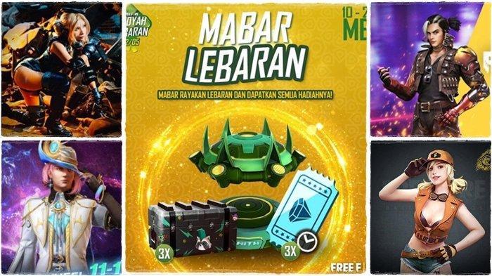 UPDATE Kode Redeem 11 Mei 2021, Rayakan Idul Fitri dengan Mabar Lebaran, Dapatkan Hadiah Menarik