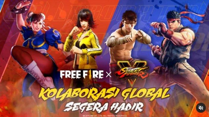 UPDATE Kode Redeem FF 1 Juni 2021: Karakter Street Fighter V Hadir di Free Fire, Mainkan di Bermuda