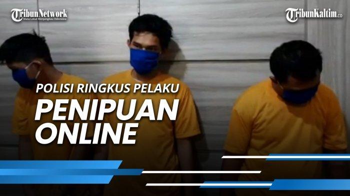 News Video Polisi Ringkus Pelaku Penipuan Online Gunakan Hasil Kejahatan Untuk Judi Online Tribun Kaltim