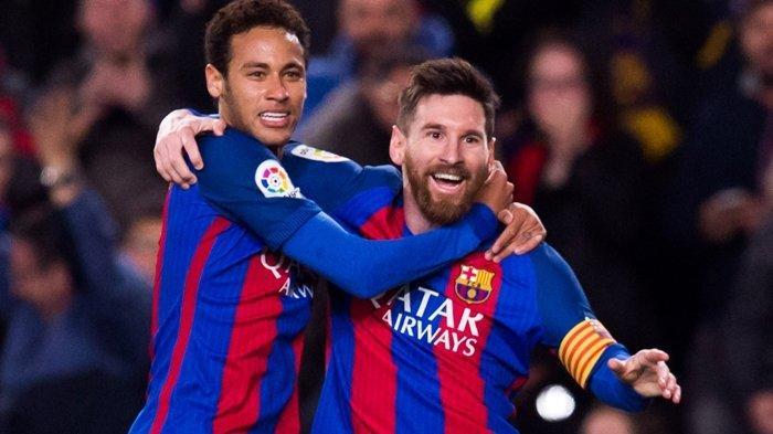 Via WhatsApp, Lionel Messi Blak-blakan ke Neymar Ungkap Rencana Pamit dari Barcelona