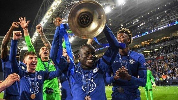 Bawa Chelsea Juara Liga Champions, Torehan Istimewa N'Golo Kante, 4 Gelar Man of The Match