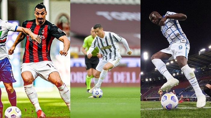 Hasil dan Klasemen Liga Italia, AC Milan Tertahan, Juve Digusur Atalanta, Inter Kian Kokoh di Puncak