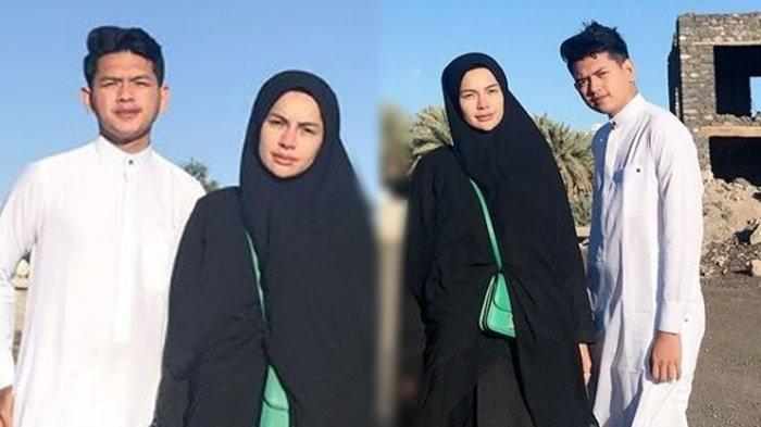 Nikita Mirzani Pamer Foto Bareng Adik Bungsunya Saat Umrah, Tampang Fajar Jadi Sorotan Netizen