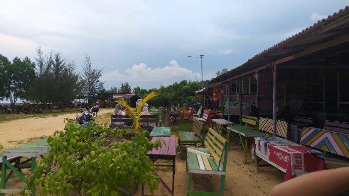 Pantai Nipah-nipah yang terletak di Kelurahan Nipah-Nipah, Kecamatan Penajam, Kabupaten Penajam Paser Utara, Provinsi Kalimantan Timur merupakan lokasi wisata yang banyak dikunjungi turis. TRIBUNKALTIM.CO/DIAN MULIA SARI