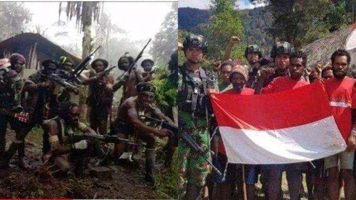 KKB Papua Mulai Berantakan Terus Menerus Diburu TNI-Polri, Akhirnya Pilih Setia ke NKRI, Akui Ditipu