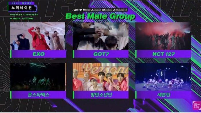 MAMA 2019 Line Up Pertama, 7 Idol Kpop yang akan Tampil di Mnet Asian Music Awards, Ada GOT7, TWICE