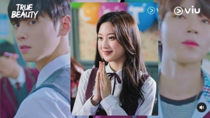 Nonton Drakor Cha Eun Woo, True Beauty, Episode 1, Siswi Cupu Korban Bully, Ditolong Pemuda Tampan