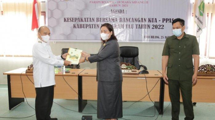 Pemkab dan DPRD Mahulu Sepakati Rancangan KUA-PPAS 2022