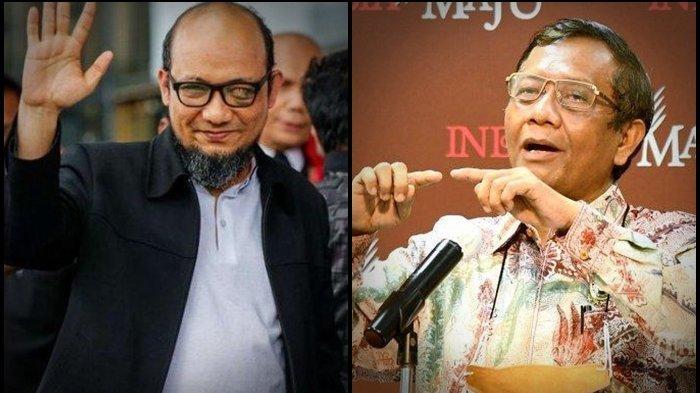 Mahfud MD Sebut Novel Baswedan Dibenci Lantaran Politis, Niat Angkat Penyidik KPK jadi Jaksa Agung