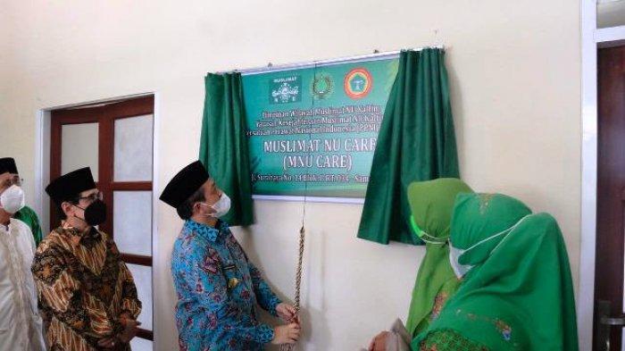 Resmikan Muslimat NU Care, Wagub Hadi Mulyadi Berharap Tetap Eksis Sepanjag Masa