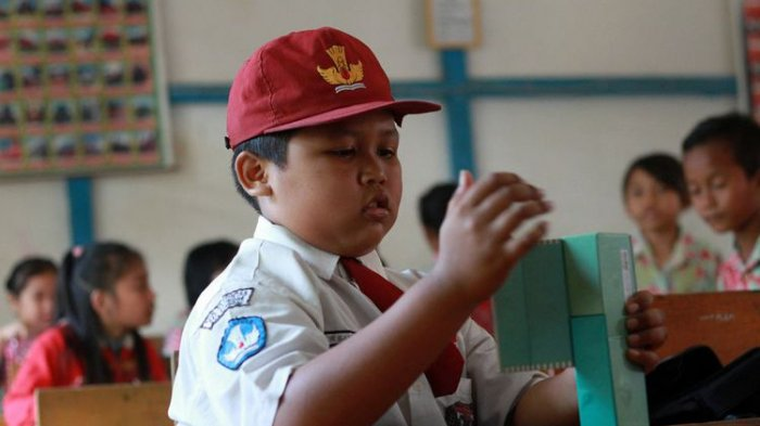 Semangat Patriotisme Nursaka, Setiap Hari Bolak-balik Malaysia-Indonesia untuk Sekolah