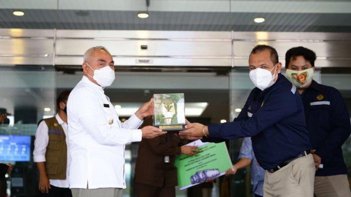 Gubernur Kaltim Isran Noor Apresiasi Bantuan Oksigen dari SKK Migas: Segera Didistribusikan