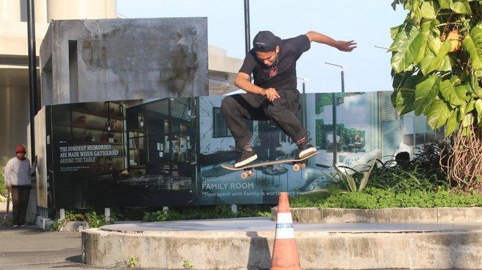 Main Skateboard di Bay Park & Sea Side Avenue Plaza Balikpapan, Vibes Berbeda Makin Menyenangkan!