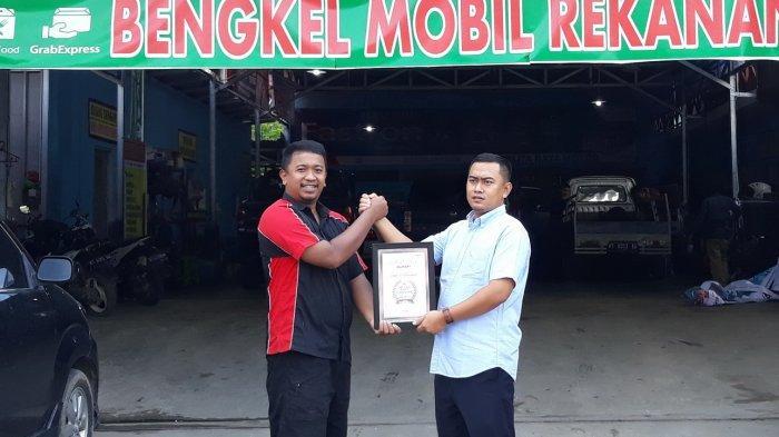 Olimart New Pelita Raya Motor Samarinda Menang di Ajang Top Sales Ownchannel