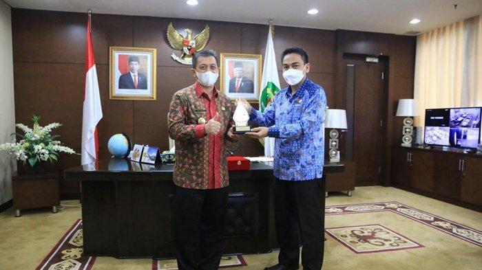 Terima Kunjungan Ombudsman RI, Wagub Dukung Kepatuhan Penyelenggaraan Pelayanan Publik