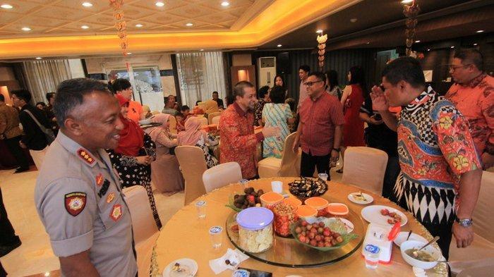 Menu Vegetarian dan Lagu 'Cinta Terbaik' Meriahkan Perayaan Imlek di Buddhist Center Samarinda
